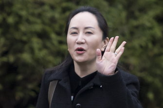 Huawei chief financial officer Meng Wanzhou, the daughter of the company's founder.