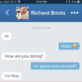 A scammer under the name Richard Bricks used a photo of Argentinian actor Juan Soler with his daughter, Mia.
