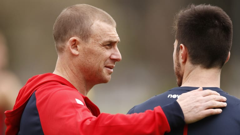 The AFL believes Simon Goodwin will be Melbourne's next premiership coach.