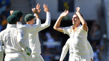 Michael Vaughan acknowledged the strength of Australia's bowling attack.