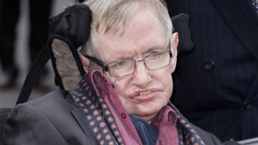 Professor Stephen Hawking redefined cosmology by proposing that black holes emit radiation and later evaporate.