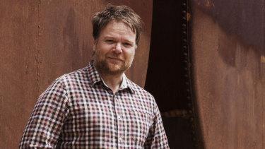 """On a Monday, you're a Peter Pan"": Heath Davis, writer-director of Book Week."