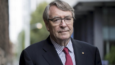 """Former Victorian judge Stephen Charles describes the CIC as a """"sham Commission""""."""
