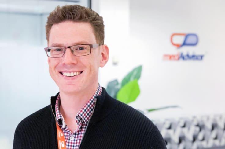 MedAdvisor founder Josh Swinnerton is excited about the Australian company\'s international future.