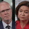 ABC directors say they did not witness Justin Milne 'touch' Michelle Guthrie