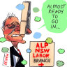 NSW Labor to rely on a Queenslander