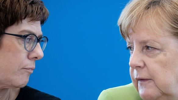 Is AKK Germany's next leader, or is she too much of a 'mini-Merkel'?