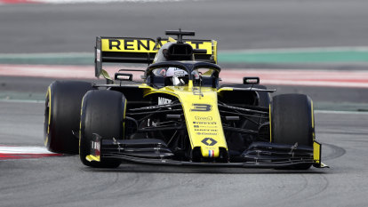 Ricciardo buoyed by Renault performance