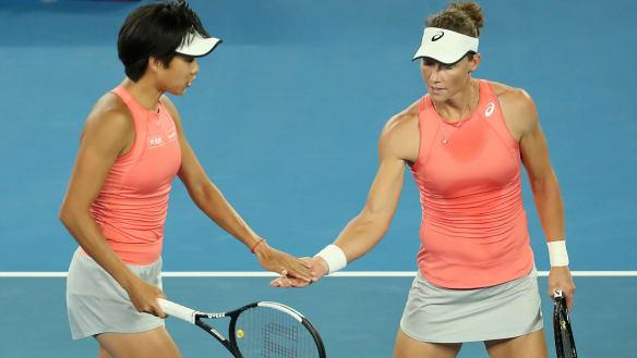 Stosur revels on Australian Open big stage
