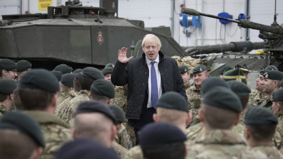 'International situation more perilous': Britain boosts defence spending