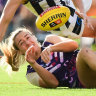Undefeated Dockers beat Magpies in AFLW