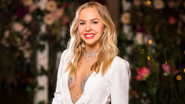 Angie Kent is the star of 2019's The Bachelorette Australia – and she's no hen in the fox house.