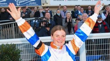 Champion jockey Jamie Kah has a race named after her in Saturday's  Moonee Valley meeting.