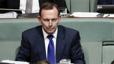 Tony Abbott says he plans to remain in public life for many years to come.