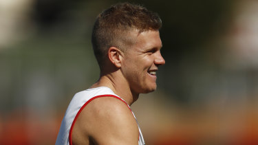 Dan Hannebery will finally see game time again, first through the VFL.