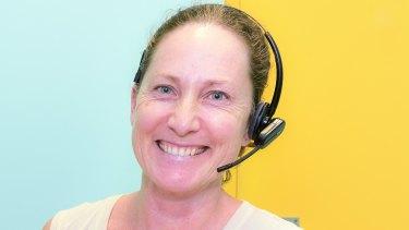 Clinical nurse consultant at Sydney Children's Hospital, Rebecca Saad.