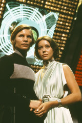 Jenny Agutter and Michael York in Logan's Run