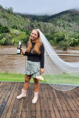 Anya Kerrigan is making the best of her wedding day that wasn't.