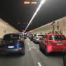 Car fire closes Sydney Harbour Tunnel