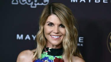 Lori Loughlin supports her daughter's academic career.