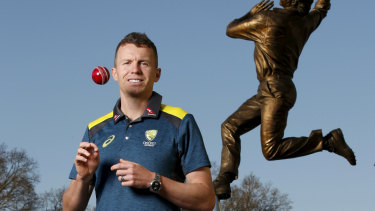 Peter Siddle has been recalled to the Test squad.