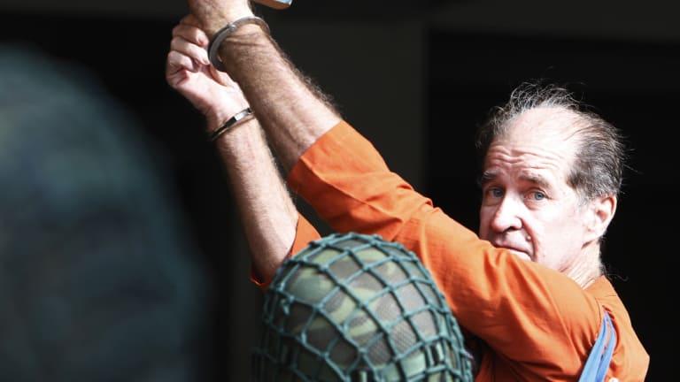 Australian filmmaker James Ricketson during the trial.