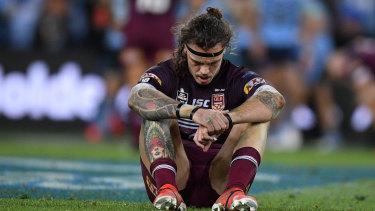A dejected Lowe was one of Queensland's best in the Origin decider.