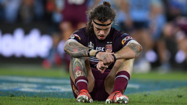A dejected Lowe was one of Queensland's best on Wednesday, kicking four crucial goals, running 90 metres and making 52 tackles in an inspiring 80-minute effort.