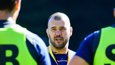 Underdogs: Michael Cheika's men have ceded favouritism to Wales despite a one-sided recent record.