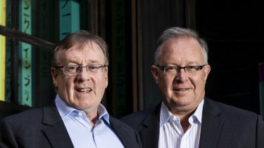 Joseph Healy and David Hornery are attracting customers from the big four banks.