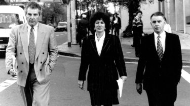 Independents Peter Macdonald, Clover Moore and John Hatton in 1992.