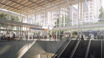 Brisbane's 'ugliest building' to go as bus and rail moves underground
