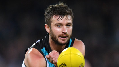 Gray surprised by Port Adelaide exit