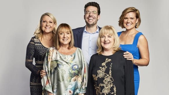 Studio 10 gets new hosts but Buttrose-Drysdale ding-dong lingers on