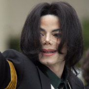 Found innocent: Late-pop icon Michael Jackson waving to his supporters at his child molestation trial at the Santa Barbara County Superior Court in California in 2005.
