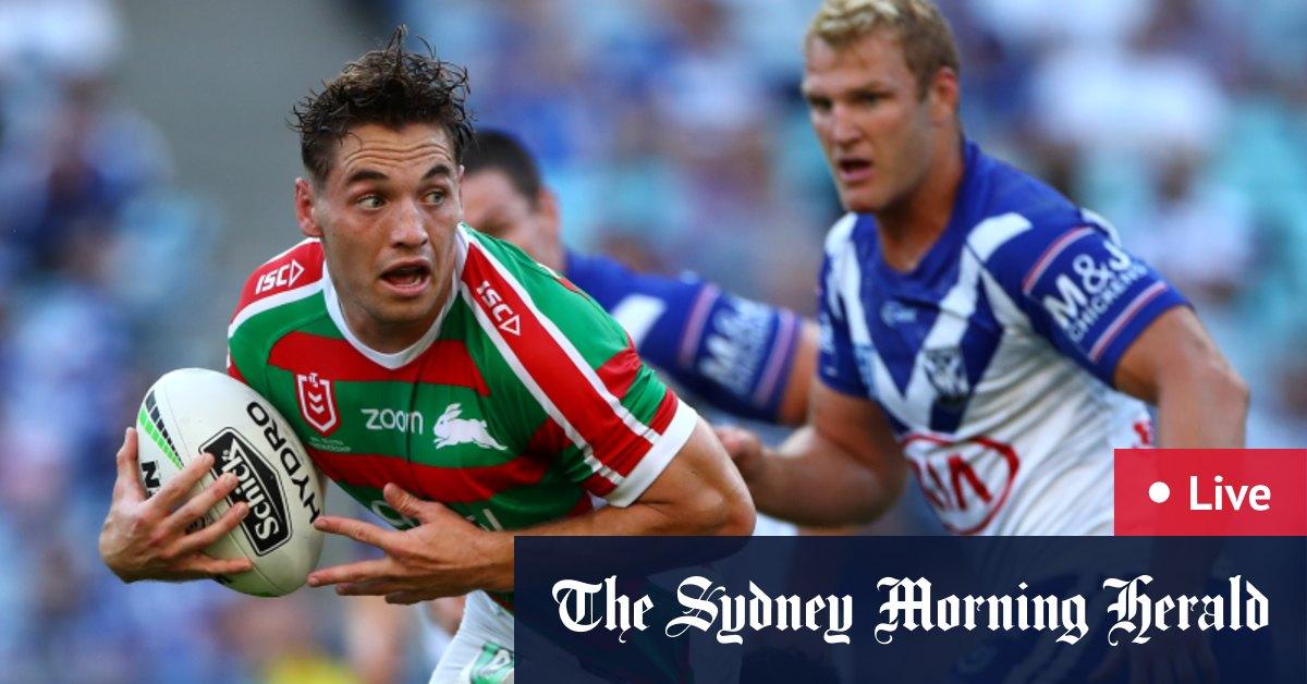 Ground News Nrl 2020 Live Updates South Sydney Rabbitohs Vs Canterbury Bulldogs At Anz Stadium