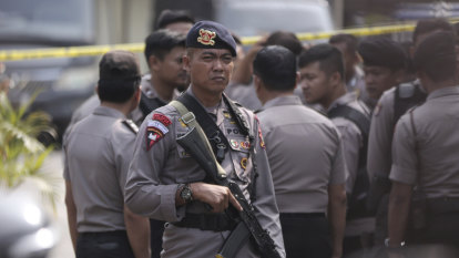 Blast near Indonesia's national monument in central Jakarta