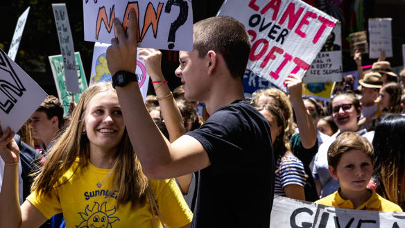 Students' activism shows the kids are all right