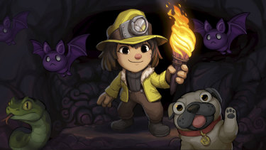 Spelunky reminded us that starting all over again can be rewarding too.