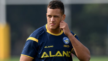 Kane Evans is playing for a Parramatta bench spot and new contract.