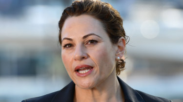 """Queensland Deputy Premier Jackie Trad described Senator Anning's comments as """"disgraceful and divisive""""."""