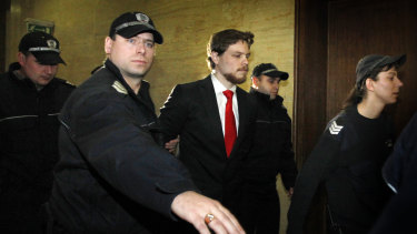 Australian citizen Jock Palfreeman, pictured in 2011, remains in limbo in Bulgaria.