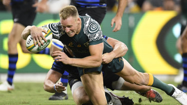 Will Reece Hodge get another chance at fullback this week for the Wallabies?