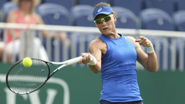 Australia's Sam Stosur fell short in her mixed doubles title bid.