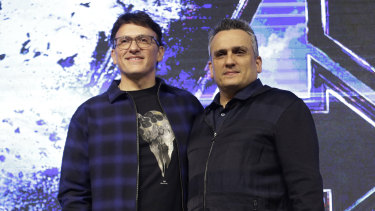 Anthony Russo and Joe Russo , who have directed four MCU movies, including Endgame.