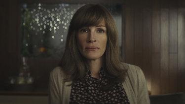 Julie Roberts stars in Homecoming on Amazon Prime Video.