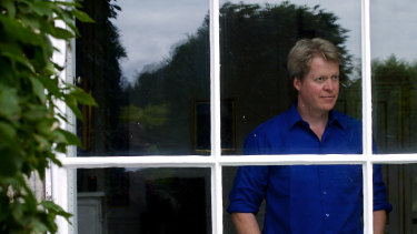 Charles Spencer, the 9th Earl of Spencer, at Althorp House, where he twice met Martin Bashir.