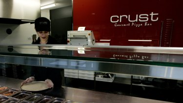 Crust Pizza is one of the brands RFG is trying to sell.