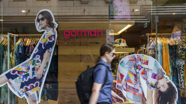 The parent company of Gorman has issued a number of legal letters to small fashion businesses.