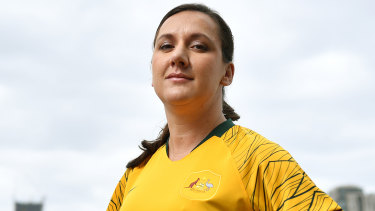 Lisa De Vanna's Matildas future looks to be up in the air.
